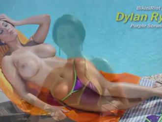 كانت ديلان فاي تمتص ديك صديقها ، بينما كان يفرك كسها الضيق