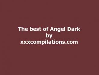 يحب ملاك الظلام أن يشعر بالديك داخل مؤخرتها حتى تبدأ في الصراخ من المتعة