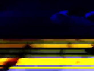 الظلام - شقراء الساخنة يأخذ الديك في المؤخرة