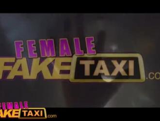 سائق سيارة أجرة أقرن يمارس الجنس مع سائقه الساخن ، لأنه حصل على وديعة ثابتة مقابل خدماته