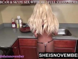 سكس صدر كبير في المطبخ
