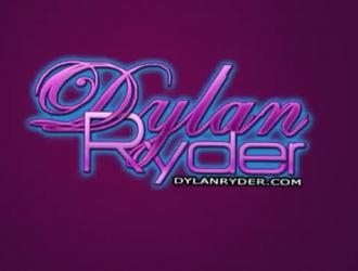 فاتنة القنبلة ديلان رايدر هو مص ديك بأسلوب بوف والحصول على مارس الجنس من الخلف.